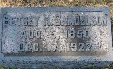 SAMUELSON, BETSEY H. - Clay County, South Dakota | BETSEY H. SAMUELSON - South Dakota Gravestone Photos