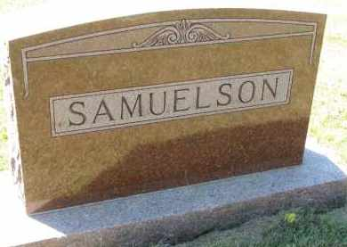SAMUELSON, FAMILY STONE - Clay County, South Dakota | FAMILY STONE SAMUELSON - South Dakota Gravestone Photos