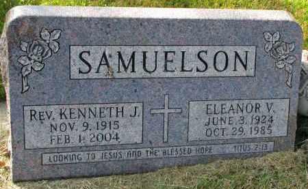 SAMUELSON, KENNETH J. (REV) - Clay County, South Dakota   KENNETH J. (REV) SAMUELSON - South Dakota Gravestone Photos