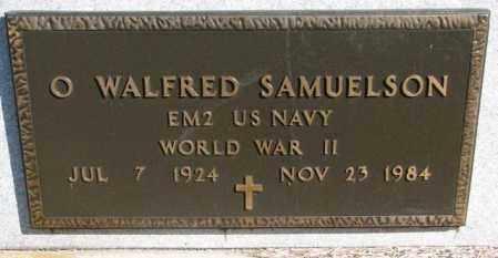 SAMUELSON, O. WALFRED - Clay County, South Dakota   O. WALFRED SAMUELSON - South Dakota Gravestone Photos