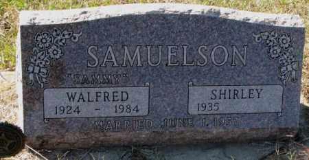 SAMUELSON, SHIRLEY - Clay County, South Dakota | SHIRLEY SAMUELSON - South Dakota Gravestone Photos