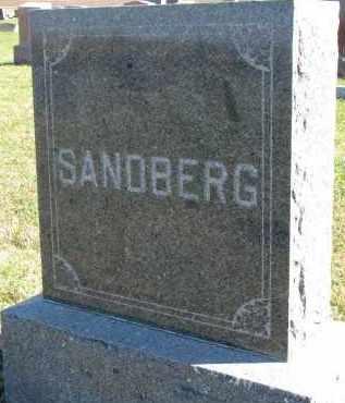 SANDBERG, FAMILY STONE - Clay County, South Dakota | FAMILY STONE SANDBERG - South Dakota Gravestone Photos
