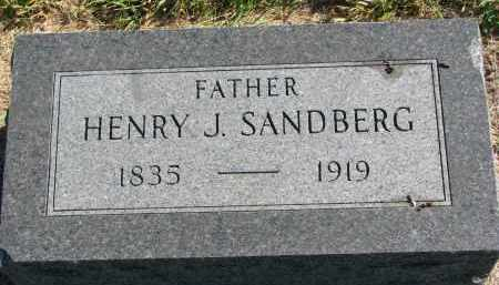 SANDBERG, HENRY J. - Clay County, South Dakota | HENRY J. SANDBERG - South Dakota Gravestone Photos