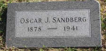 SANDBERG, OSCAR J. - Clay County, South Dakota | OSCAR J. SANDBERG - South Dakota Gravestone Photos