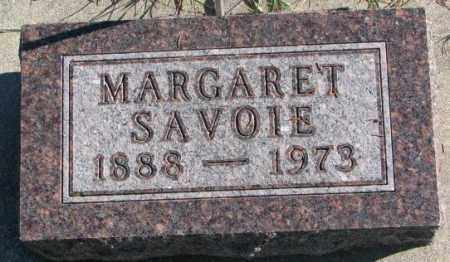 SAVOIE, MARGARET - Clay County, South Dakota | MARGARET SAVOIE - South Dakota Gravestone Photos