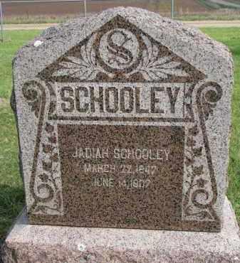 SCHOOLEY, JADIAH - Clay County, South Dakota   JADIAH SCHOOLEY - South Dakota Gravestone Photos