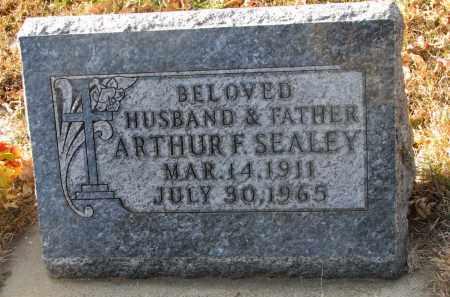 SEALEY, ARTHUR F. - Clay County, South Dakota | ARTHUR F. SEALEY - South Dakota Gravestone Photos