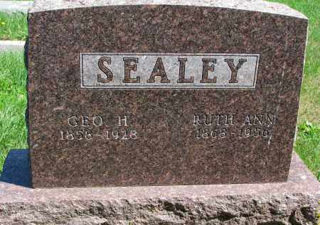 SEALEY, GEO H. - Clay County, South Dakota | GEO H. SEALEY - South Dakota Gravestone Photos