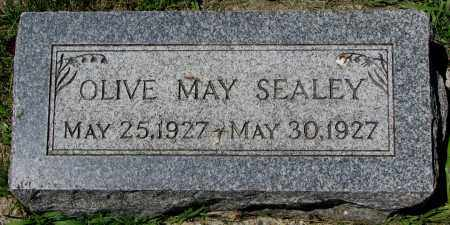 SEALEY, OLIVE MAY - Clay County, South Dakota   OLIVE MAY SEALEY - South Dakota Gravestone Photos