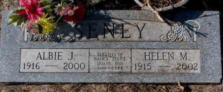 SENEY, ALBIE J. - Clay County, South Dakota | ALBIE J. SENEY - South Dakota Gravestone Photos