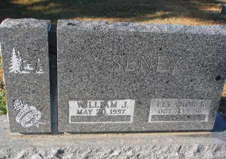 SENEY, WILLIAM J. - Clay County, South Dakota | WILLIAM J. SENEY - South Dakota Gravestone Photos