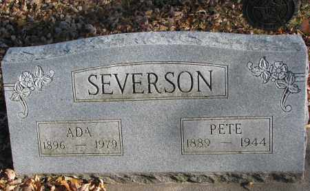 SEVERSON, PETE - Clay County, South Dakota | PETE SEVERSON - South Dakota Gravestone Photos