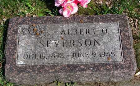 SEVERSON, ALBERT O. - Clay County, South Dakota   ALBERT O. SEVERSON - South Dakota Gravestone Photos