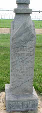 SEVERSON, ANDREW - Clay County, South Dakota   ANDREW SEVERSON - South Dakota Gravestone Photos