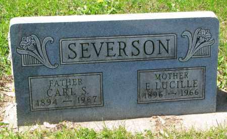 SEVERSON, CARL S. - Clay County, South Dakota | CARL S. SEVERSON - South Dakota Gravestone Photos