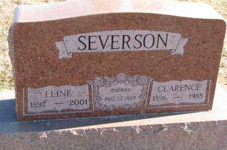 SEVERSON, ELINE - Clay County, South Dakota | ELINE SEVERSON - South Dakota Gravestone Photos