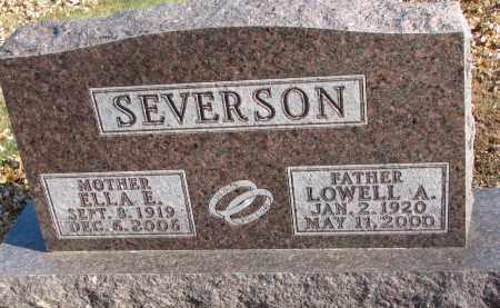 SEVERSON, ELLA E. - Clay County, South Dakota | ELLA E. SEVERSON - South Dakota Gravestone Photos