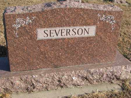 SEVERSON, FAMILY STONE - Clay County, South Dakota | FAMILY STONE SEVERSON - South Dakota Gravestone Photos
