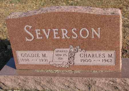 SEVERSON, CHARLES M. - Clay County, South Dakota | CHARLES M. SEVERSON - South Dakota Gravestone Photos