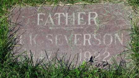 SEVERSON, H.K. - Clay County, South Dakota | H.K. SEVERSON - South Dakota Gravestone Photos