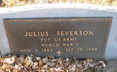 SEVERSON, JULIUS - Clay County, South Dakota | JULIUS SEVERSON - South Dakota Gravestone Photos
