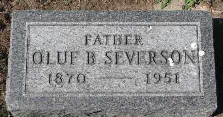 SEVERSON, OLUF B. - Clay County, South Dakota | OLUF B. SEVERSON - South Dakota Gravestone Photos