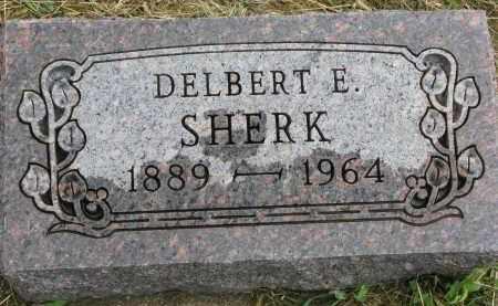SHERK, DELBERT E. - Clay County, South Dakota | DELBERT E. SHERK - South Dakota Gravestone Photos
