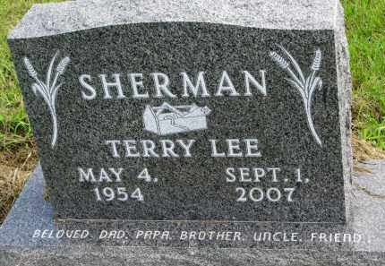 SHERMAN, TERRY LEE - Clay County, South Dakota | TERRY LEE SHERMAN - South Dakota Gravestone Photos
