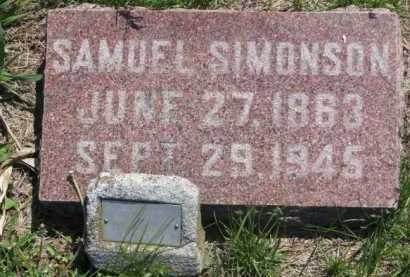 SIMONSON, SAMUEL - Clay County, South Dakota | SAMUEL SIMONSON - South Dakota Gravestone Photos