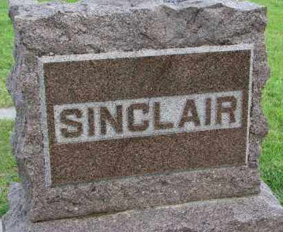 SINCLAIR, FAMILY STONE - Clay County, South Dakota   FAMILY STONE SINCLAIR - South Dakota Gravestone Photos