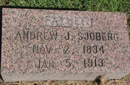 SJOBERG, ANDREW J. - Clay County, South Dakota   ANDREW J. SJOBERG - South Dakota Gravestone Photos