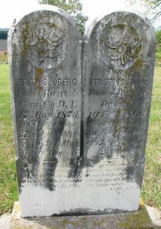 SJOBERG, KERSTIN - Clay County, South Dakota | KERSTIN SJOBERG - South Dakota Gravestone Photos