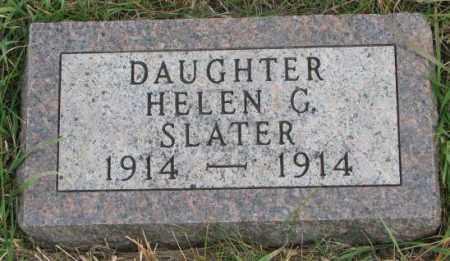 SLATER, HELEN G. - Clay County, South Dakota | HELEN G. SLATER - South Dakota Gravestone Photos
