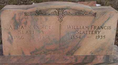 MAXWELL SLATTERY, ALMA - Clay County, South Dakota | ALMA MAXWELL SLATTERY - South Dakota Gravestone Photos