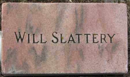 SLATTERY, WILLIAM (FOOTSTONE) - Clay County, South Dakota | WILLIAM (FOOTSTONE) SLATTERY - South Dakota Gravestone Photos