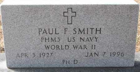 SMITH, PAUL F. (WW II) - Clay County, South Dakota | PAUL F. (WW II) SMITH - South Dakota Gravestone Photos