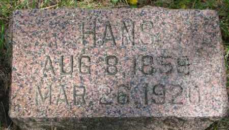 SODERBERG, HANS - Clay County, South Dakota   HANS SODERBERG - South Dakota Gravestone Photos