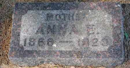 SODERMAN, ANNA E. - Clay County, South Dakota | ANNA E. SODERMAN - South Dakota Gravestone Photos