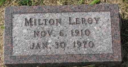 SORENSON, MILTON LEROY - Clay County, South Dakota | MILTON LEROY SORENSON - South Dakota Gravestone Photos