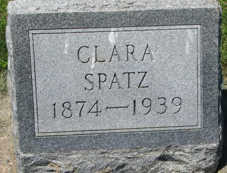 SPATZ, CLARA - Clay County, South Dakota | CLARA SPATZ - South Dakota Gravestone Photos