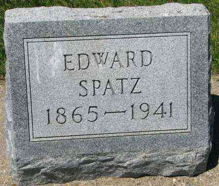SPATZ, EDWARD - Clay County, South Dakota | EDWARD SPATZ - South Dakota Gravestone Photos