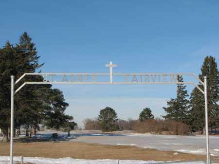 **ST. AGNES, FRONT GATE - Clay County, South Dakota   FRONT GATE **ST. AGNES - South Dakota Gravestone Photos