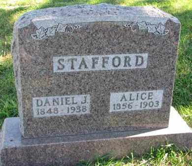 STAFFORD, DANIEL J. - Clay County, South Dakota | DANIEL J. STAFFORD - South Dakota Gravestone Photos