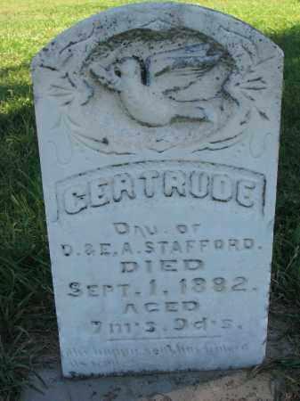 STAFFORD, GERTRUDE - Clay County, South Dakota | GERTRUDE STAFFORD - South Dakota Gravestone Photos