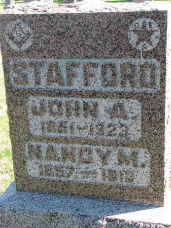 STAFFORD, NANCY M. - Clay County, South Dakota | NANCY M. STAFFORD - South Dakota Gravestone Photos