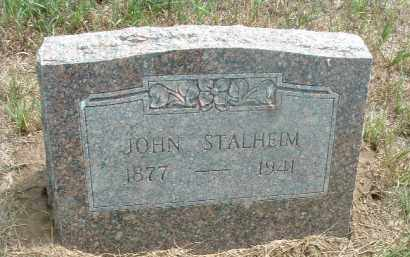 STALHEIM, JOHN - Clay County, South Dakota | JOHN STALHEIM - South Dakota Gravestone Photos