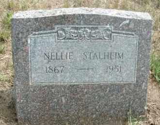 STALHEIM, NELLIE - Clay County, South Dakota | NELLIE STALHEIM - South Dakota Gravestone Photos