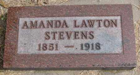STEVENS, AMANDA - Clay County, South Dakota | AMANDA STEVENS - South Dakota Gravestone Photos