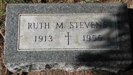 STEVENS, RUTH M. - Clay County, South Dakota | RUTH M. STEVENS - South Dakota Gravestone Photos
