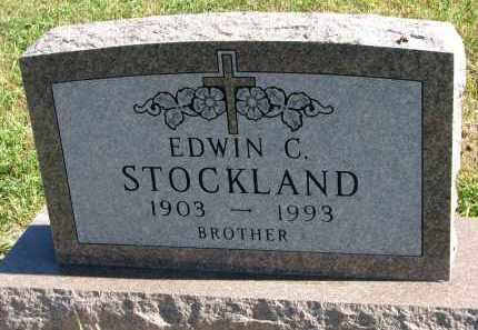 STOCKLAND, EDWIN C. - Clay County, South Dakota | EDWIN C. STOCKLAND - South Dakota Gravestone Photos